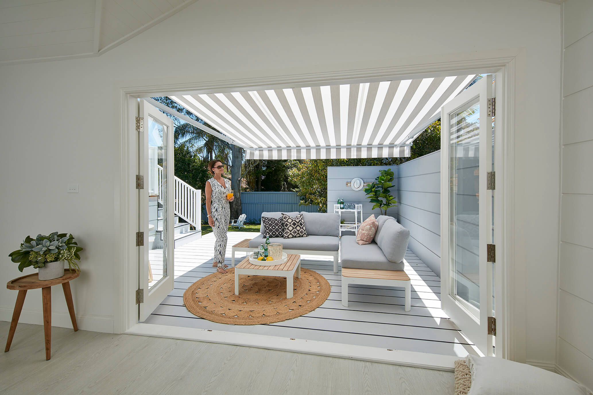 Folding-arm-awning-from-inside